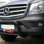 Mercedes Sprinter Windenanbausatz hidden