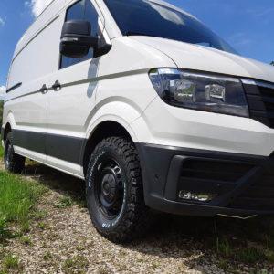 VW Crafter Fahrwerke Baujahr 2016 Frontansicht