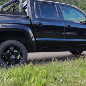 VW Amarok Fahrwerksumrüstung Seitenansicht Beifahrerseite