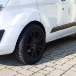 Ford Transit Custom - weiß - Felge schwarz