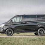 Ford Transit Custom - schwarz - Felge schwarz